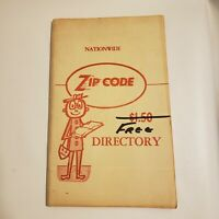 Vintage 1965 NATIONAL ZIP CODE DIRECTORY BOOK