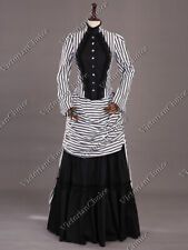 New listing Victorian Steampunk Bustle Dress Beetlejuice Gown Witch Halloween Costume 139 S