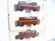Hobbytrade H0 33352 3er Set ged. Güterwagen NMBS / SMCB OVP (LN8583)