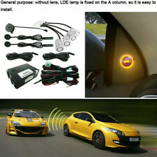 LED Car Blind Spot Monitoring Detection System Ultrasonic Sensor Distance Assist