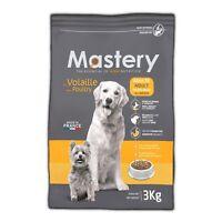 Mastery Hundefutter Adult Geflügel, Trockenfutter für ausgewachsene Hunde - 3 kg