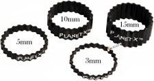 1-1//8 Pouces de Diamètre-Multi-packs 2 mm Sunlite Aluminium Casque Entretoises