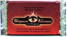 BOOSTER LE SEIGNEUR DES ANNEAUX - LES DRAGONS 15 Cartes A JOUER & COLLECTIONNER