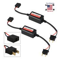 2x H7 Headlight LED Canbus Error Free Resistor Anti Flicker Canceller Decoder