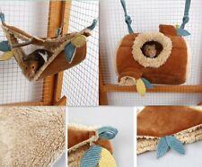 Hamster Ferret Rat Squirrel Hammock Hanging Cage Nest House Bed Pet Lj