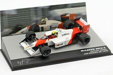 Ayrton Senna McLaren Honda MP4/4 San Marino GP 1988 Formula 1 F1 Altaya 1/43