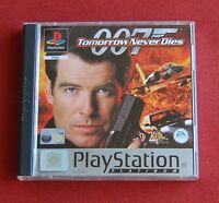 Tomorrow Never Dies - Playstation One PS1 Game Platinum - Complete - Bond 007