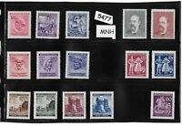 #5477    MNH Stamp collection / Third Reich era / WWII Germany Occupation BaM