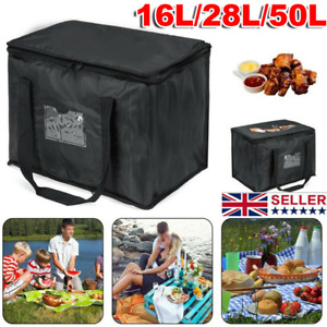 UK Large Food Delivery Insulated Bags Pizza Takeaway Thermal Warm/Cold Bag Ruck