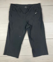 Nike Dri Fit Cropped Running Pants Women's Large