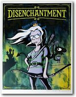 signed matt groening disenchantment 25 Variant Giclee  SDCC 2019 50th Exclusive
