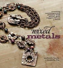 BK142 MIXED METALS Creating Contemporary Jewelry by Barta & Fox New Wrapped Book
