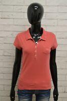 Polo GUESS Donna Taglia Size L Maglia Maglietta Camicia Shirt Woman Cotone Slim