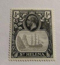 ST HELENA Scott #79 * MH  stamp, fine + 102 card