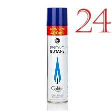 Colibri Premium 24 x 400ml Butane Large Can Original High Quality Gaz Gas
