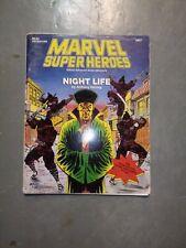 Marvel Super Heroes Nightlife, Mla3 Adventure, Herring, 1990