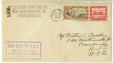 1940 New Zealand to USA First Air Mail Service Flight cover