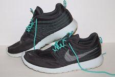 Nike RosheRun Dynamic Running Shoes, #580579-030, Tech Grey/Turq, Men's US 12