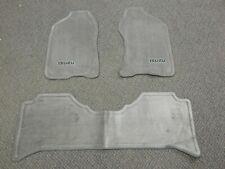 New Oem 1998-2004 Isuzu Rodeo Axiom 3 Piece Gray Floor Mat Carpet Set Left Right (Fits: Isuzu)