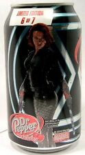 "MT UNOPEN Dr. Pepper Cherry ""Avengers Age of Ultron Black Widow"" Ltd Ed USA 2015"