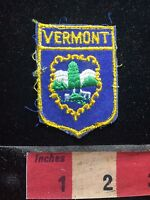 Vintage, Shield Shaped Vermont Patch 76NN