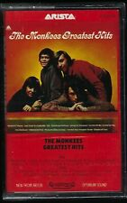 The MONKEES GREATEST HITS Sealed CASSETTE TAPE Arista Records RoCk Best Of lp