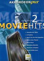 Akkordeon Noten : MOVIE Hits 2  Filmmusik - Akkordeon pur - mittelschwer VHR1804