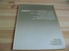Bedienungsanleitung Yamaha KX-W262