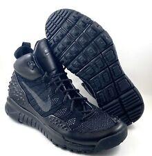 Nike ACG Lupinek Flyknit Triple Black Sneakerboot 862505-002 Size 9.5 SFB