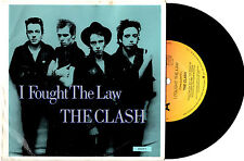 "THE CLASH - I FOUGHT THE LAW - EP 7"" 45 VINYL RECORD PIC SLV 1979"