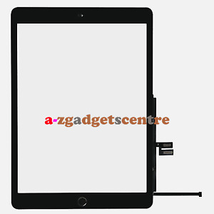 For iPad 7 7th Gen 2019 10.2 Touch Screen Digitizer+Home Button+Adhesive Replace