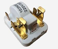 DANFOSS FRIGORIFERO CONGELATORE ELECTROLUX allo stato solido inizia Compressore Relè 103N0011