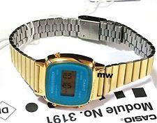 Casio LA670 LA670WGA Ladies Gold Digital Retro Vintage Womens Watch LA-670WGA-2D