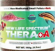 New listing New Life Spectrum Thera+A Small Fish Sinking Pellet Non Medicated Fish Food 140g