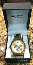 Kenneth Cole Unlisted  Gold Stainless Steel Link Band Watch UL1269
