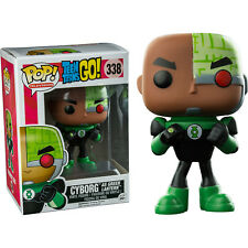 Funko POP! Television Teen Titans GO Cyborg (As Green Lantern) #338
