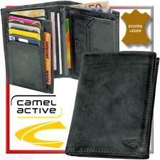 camel actif (pierre-noir) HOMME Porte-monnaie portefeuille NEUF