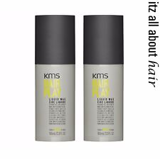 KMS Hair Play Liquid Wax 100ml x 2