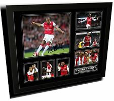 THIERRY HENRY ARSENAL FC SIGNED LIMITED EDITION FRAMED MEMORABILIA