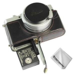 Gehäusehälfte PU-Leder Kameratasche Tasche für Leica D-LUX 7