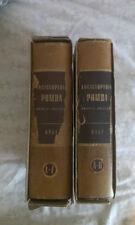 F. Cosentini - ENCICLOPEDIA POMBA 2 volumi - 1950 - UTET