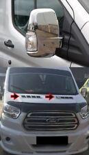 in acciaio INOX cromato 2 pezzi Transit MK8 Cappuccio di ventilazione per cofano