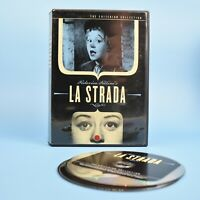 Federico Fellini's La Strada - The Criterion Collection 2 DVD Italian W/Eng Subs