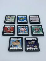 Nintendo DS Game Lot of 8 kids games Hannah Montana Club Penguin Cooking Mama