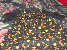 Vintage Halloween girls 2t 2t handmade witch dress retro costume boutique chic