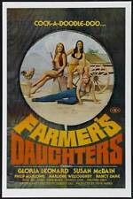 The Farmers Daughter (1976) Style-A Vintage 70s Adult Porn Movie Poster 27x40""