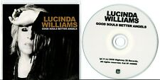 PROMO CD LUCINDA WILLIAMS GOOD SOULS BETTER ANGELS PROMOTIONAL ONLY 2020 H2006