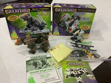 Zoids Spinosnapper #043 bear fighter #511 lot of 2