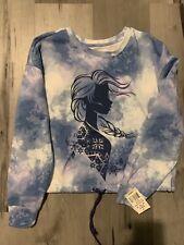 Frozen 2 Crew neck Sweatshirt. Large. New With Tags. Elsa.