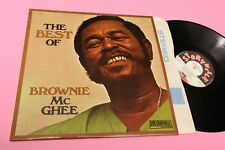 BROWNIE Mc GHEE LP BEST OF FRANCE '70 NM LAMINATED COVER TOOPP JAZZ BLUES
